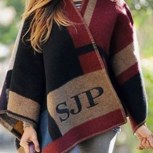 Burberry Wool-Cashmere Poncho